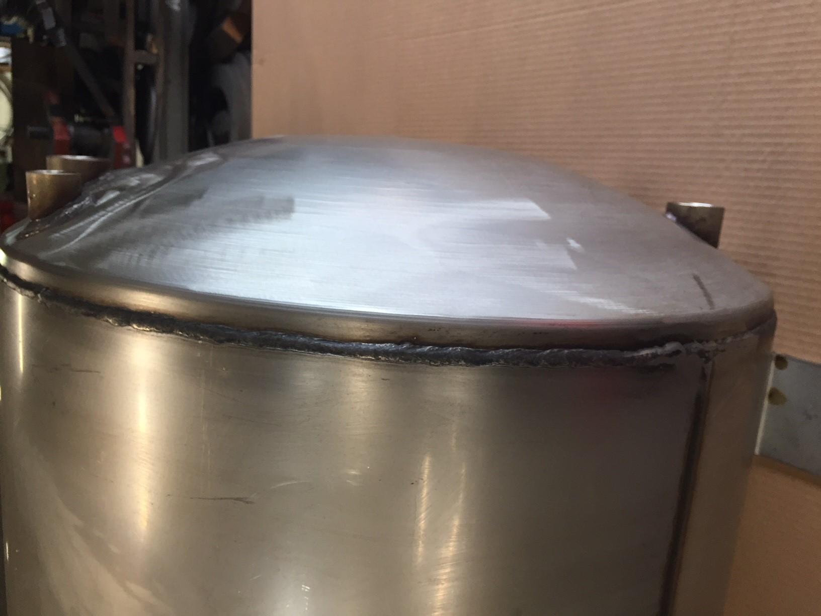 Pressure Vessel Manufacturer Stainless Steel Tanks Milk